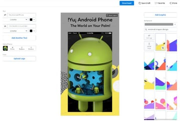 Download Your Android Phone Mockup