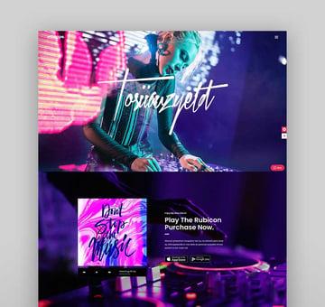 Mixtape - Music Theme for Artists & Festivals