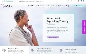 Zelus - WordPress Theme for Psychology Counseling