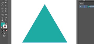 Changing the color of the triangle