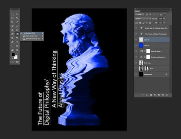 Use the gradient tool to create a new layer with a gradient
