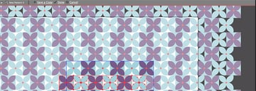 Save the flowers pattern