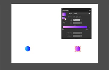 Duplicate the circle element and add another color to the new circle