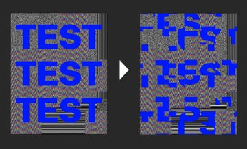 You can also apply the Wave effect on text