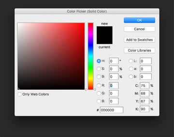 Add a solid color layer