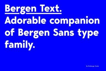 Bergen Text