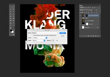 Create a new layer named Shadow