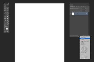 Add a new gradient fill layer