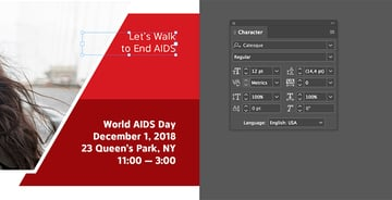 Add text to the red shaped elements