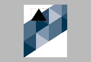Lock the triangles 1 layer and work on the triangles 2 layer Create a new triangle