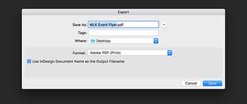 Save the file as an Adobe PDF print file