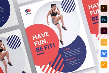 Fitness Trainer Coach Poster