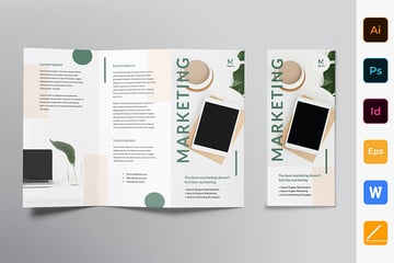 Marketing Agency Brochure Trifold
