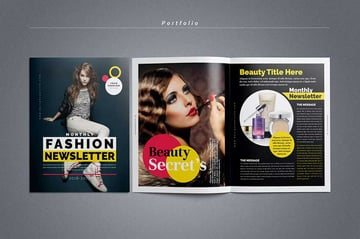 Fashion Newsletter Template