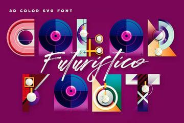 Futuristico SVG Color Font