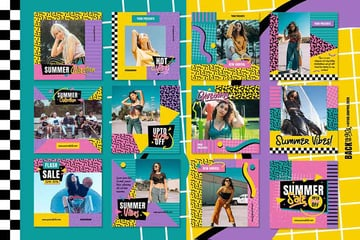 Back to 90s Instagram Pack