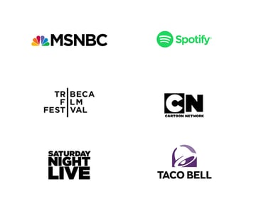The Gotham font used in several famous logos