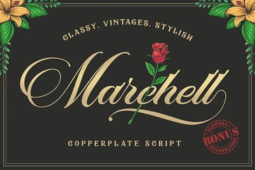 Swash Fonts Marchell