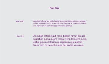 Font Size