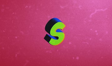 S in Different Styles, Comic Text Effect
