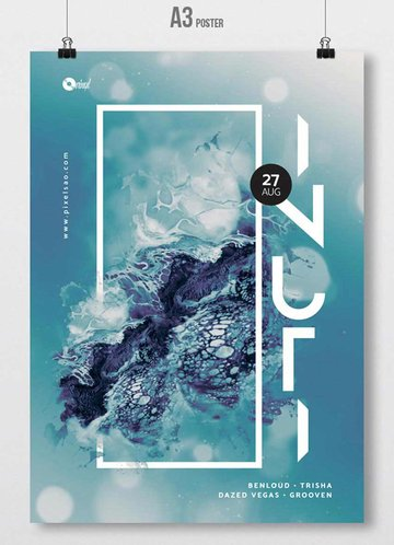 Inuti - Abstract Party Flyer
