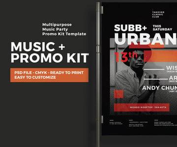 Music Event Promotion Kit