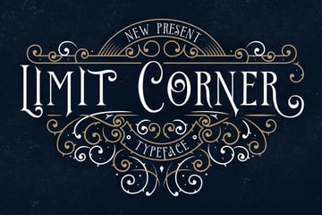 Limit Corner Typeface