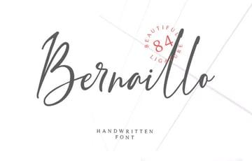 Bernaillo Script Font
