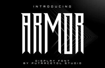 Armor Font