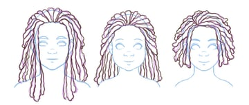 Refining different styles in locs