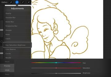 Adjusting the Line Color