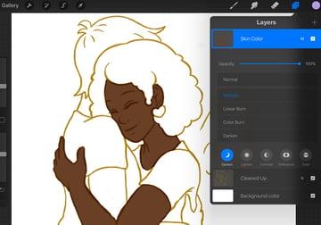 Adding Initial Colors