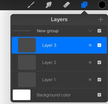 Example of Grouped Layers