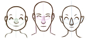 Refining the faces