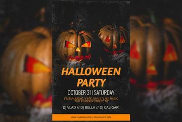 Halloween Party Flyer Maker