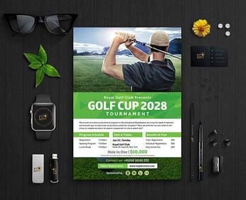 Charity Golf Tournament Flyer