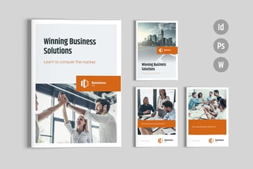 Solutions  Brochure Template