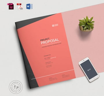 Brochure  Proposal Template