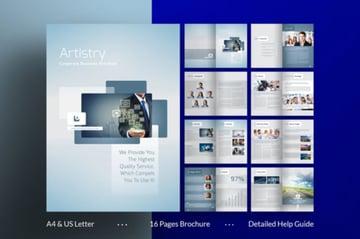 Adobe InDesign Brochure Template