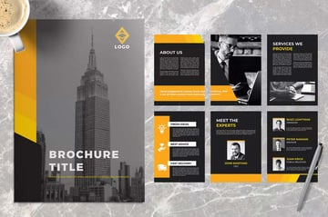 Yellow Business Brochure