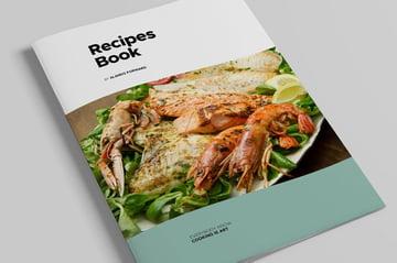 Cook Book InDesign Template