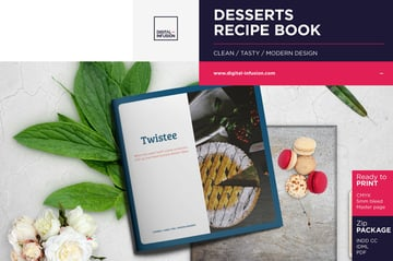 Twistee Dessert Recipe Book Template