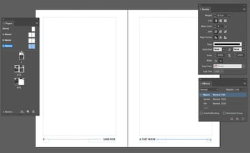 Example Book Design Layout
