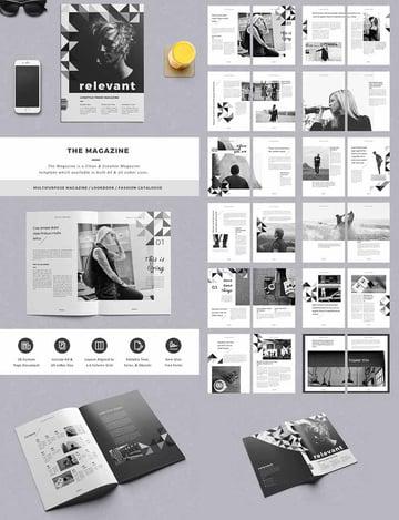 The Magazine Elegant Layout Design