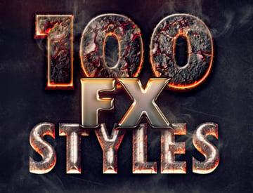 100 Text Effects Bundle