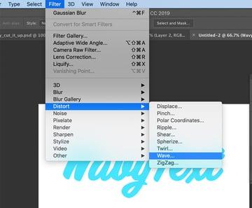 Photoshop Wave Filter
