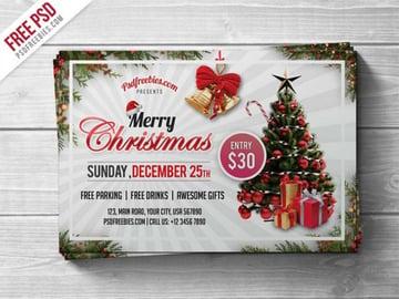 Christmas Flyer Template Design