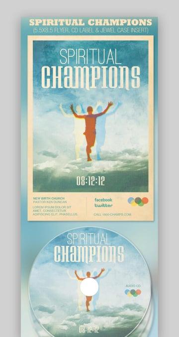 Spiritual Champions Church Flyer Template