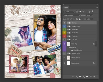 Adding imagery