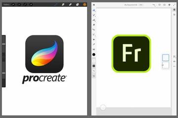 Procreate vs Adobe Fresco